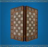 Backgammon&Chess Set