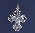 SILVER CROSS 1.4 INCHES