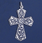SILVER CROSS 1.6 INCHES