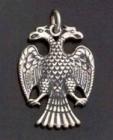 DOUBLE HEADED EAGLE PENDANT