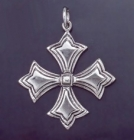 SILVER CROSS 1.8 INCHES