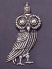 OWL OF ATHENS PENDANT