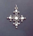 SILVER CROSS 1.5 INCHES