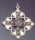 SILVER CROSS 2.2 INCHES