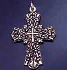 SILVER CROSS 2.1 INCHES