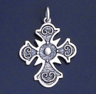 SILVER CROSS 1.2 INCHES