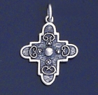 SILVER CROSS 1.1 INCHES